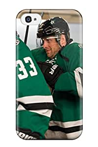 Protective Tpu Case With Fashion Design For Iphone 4/4s (dallas Stars Texas (20) )