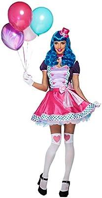 Goddessey – Bubble Gum de la mujer disfraz de payaso: Amazon.es ...