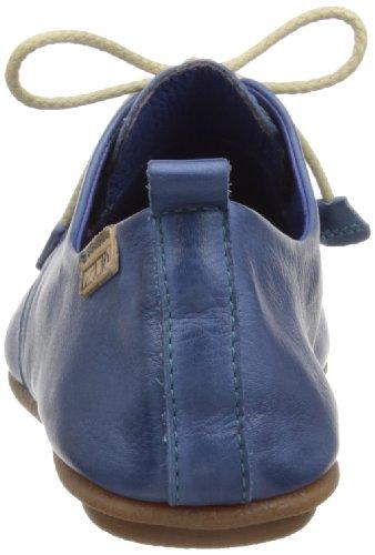 Pikolinos Calabria de mujer Zapatos para 7123 de Azul cuero cordones r6dqrwC