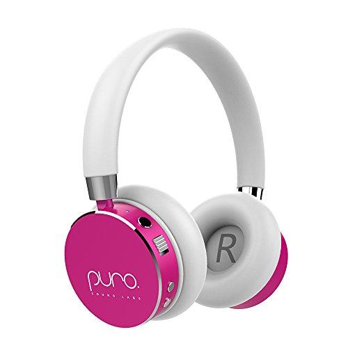 Puro Sound Labs BT2200 Kids Volume-Limiting Over-Ear Wireless Headphones