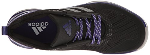 adidas Herren Speed ​�?.0 Cross-Trainer Schuhe Schwarz / Eisen / Collegiate Purple