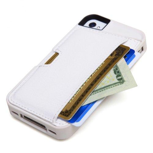 CM4 Q4 WHITE Wallet Apple iPhone
