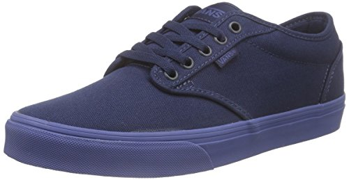 Vans - Atwood, Zapatillas Hombre Azul (check Liner/dress Blues/blue)
