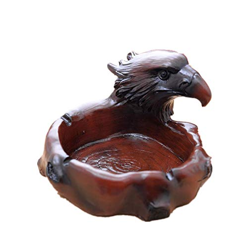 in Eagle Cigarette Ashtray Tabletop Ash Tray Holder for Home Office Decoration ()