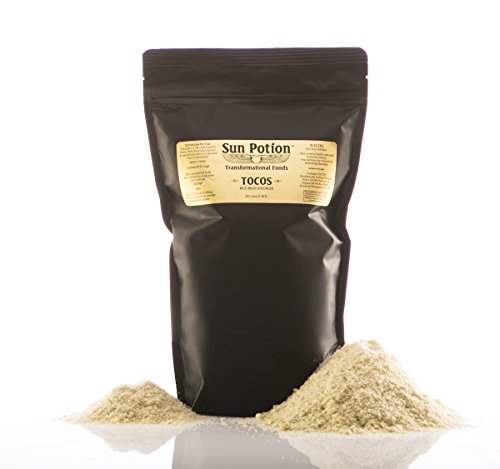 TOCOS Powder 400g by Sun Potion - Organic Rice Bran Solubles - Tocotrienols Ultimate Superfood High in Vitamin E Promotes Healthy Skin Care Connective Tissue and Muscle Function - Raw, Pure, Non-GMO
