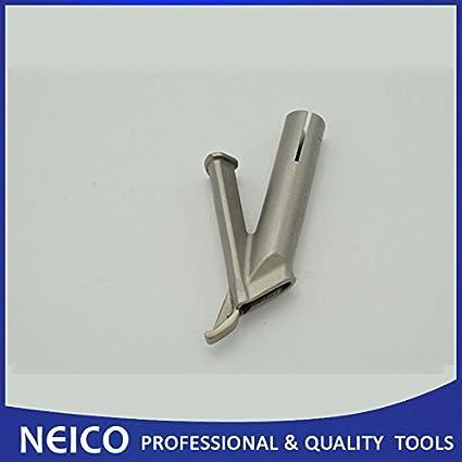 Boquilla triangular de 5 mm; punta de plástico para pistola de soldadura de aire caliente