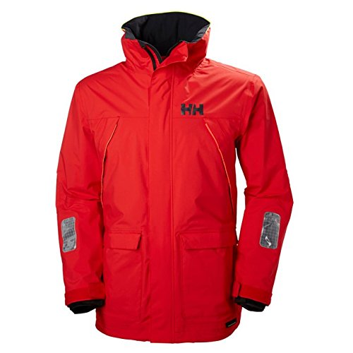 Helly Hansen Men's Pier Jacket, Alert Red, ()