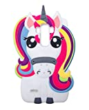 Unicorn Case for LG G Stylo,G4, Girl Cartoon Phone Cute Silicone Full Body Protection Shockproof Cover, 3D Protector for Kids Girls Women Lady