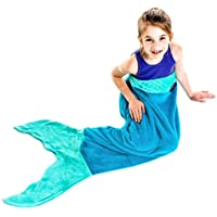 The Original Blankie Tails Mermaid Tail Blanket (Youth...