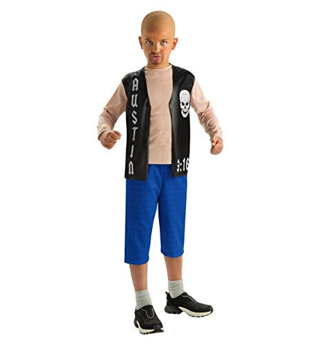 Rubie's Costume Co H/S Stone Cold Steve Aust Costume, Large, Large -