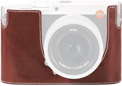 Typ 116 No Embossing Vintage Brown, Leica Protector Q Leather