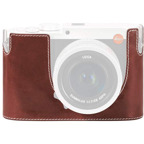 Leica Protector for Q Typ 116 Half Case (Vintage Brown, Leather) [並行輸入品] B07MJYT7SK