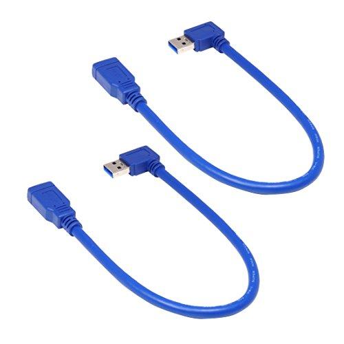 Super Speed USB 3.0 AF to AF Cable Adapter (Blue) - 4