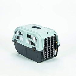 MPS2 S01050300 Skudo 3- Transportadora para perros, Gris/ Negro, 60 x 40 x 39 cm