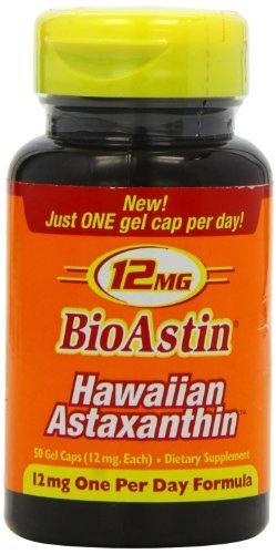 Nutrex Hawaii Bioastin Hawaiin Astaxanthin - 12mg, 200 Gel Caps by Nutrex