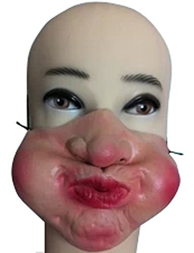 Terrorist Costume For Sale (Hot Sale Halloween Half Face Mask Funny Performance Of Latex Masks-Drum Gas Face)