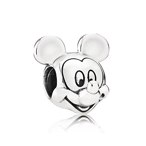 (Pandora 791586 Disney Mickey Portrait Charm )