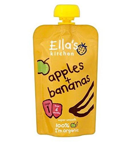 Ella'S Kitchen Apples + Bananas Stage 1 From 4 Months 120G Ella' s Kitchen