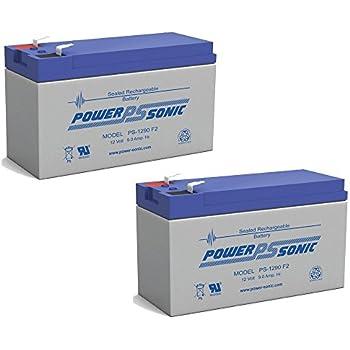 Amazon.com: S CP1290 sellada AGM Batería de 12 V, 9 Ah ...