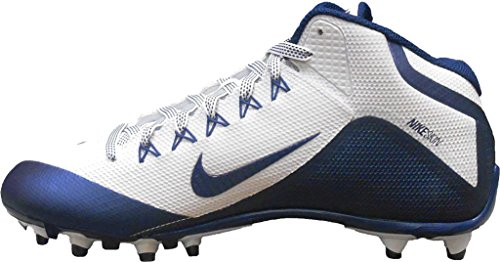 Nike Herren Alpha Pro 2 Fußballschuh Weiß / Marine-Marine