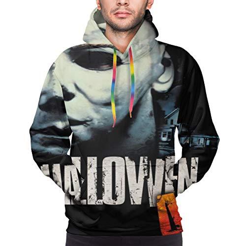 CTCTZ Mens Halloween 4 The Return of Michael Myers 1988 Spiritual Trendy Cool Long Sleeves Sweatshirt XL Black (Halloween 4 The Return Of Michael Myers 1988)