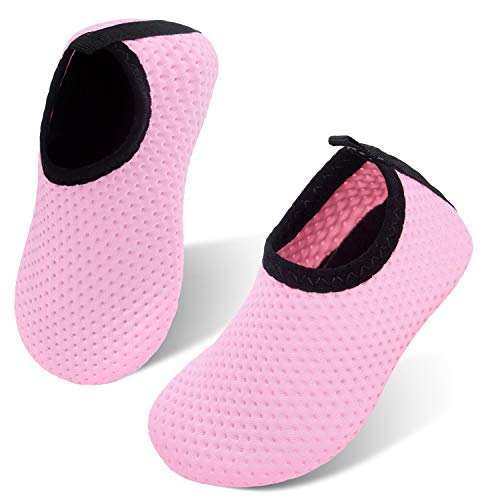 (storeofbaby Infant Baby Girls Barefoot Swim Water Shoes Aqua Socks for Beach Pool)