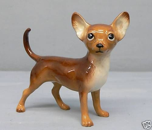 Brown CHIHUAHUA DW Specialty Series HAGEN-RENAKER - Brown Chihuahua