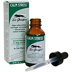 Dr. Goodpet Homeopathic Stress Formula for Dogs & Cats, Small