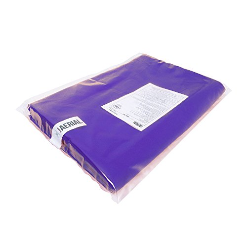 Firetoys Professional Aerial Silks Fabric/Tissues, Medium Stretch Silk WLL 128kg (Purple, 12 Metre) by Firetoys (Image #4)