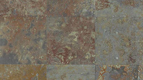 - Modern Brazilian Multicolor 16 x 16 Tile, 1 SqFt