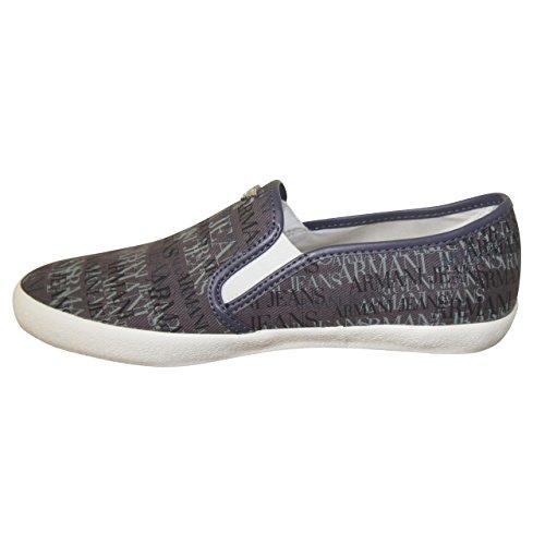 Armani Jeans - Mocassins Armani Jeans gris A652324