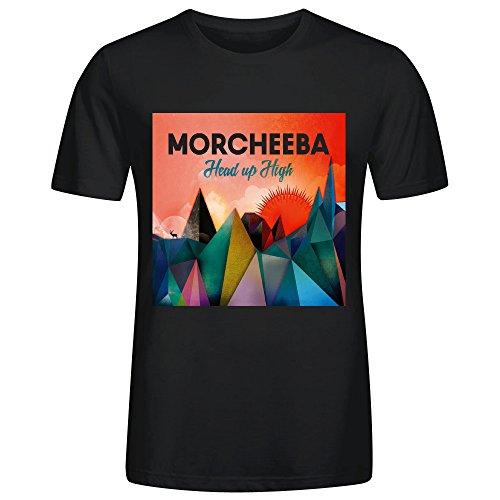 Morcheeba Head Up High Men Tees Black (Wet T Contest)