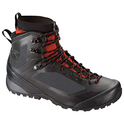 Arc'teryx Bora2 Mid Hiking Boot - Men's Black/Cajun 9.5 (Bora 2)