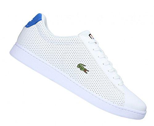 Lacoste Carnaby Evo Sneaker Herren Weiß