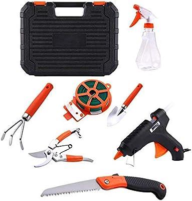 Conjunto de herramientas de jardín, 10PCS Conjunto de herramientas de jardinería Conjuntos de jardinería Herramientas de floración Conjuntos de herramientas de precisión para el hogar: Amazon.es: Bricolaje y herramientas