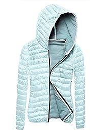 Shinekoo Women Winter Short Slim Hooded Coat Winter Jacket Outwear