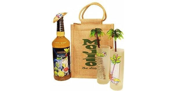 Estilo Mojito Cubano Bolsa de regalo.: Amazon.com: Grocery ...