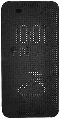 separation shoes b6ac4 6e6d8 HTC One X9 - Dot View Smart Flip Case Cover Black: Amazon.com: GOBIGSHOP