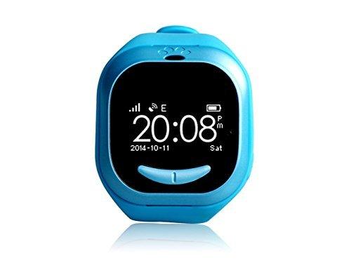 Dingtool Uwatch U100 reloj inteligente Bracelect con GPS Tracker GSM posición micrófono inteligente reloj teléfono para