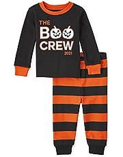 The Children's Place Pijama de algodón con Ajuste cómodo para niños pequeños Juego de Pijama para bebés Unisex