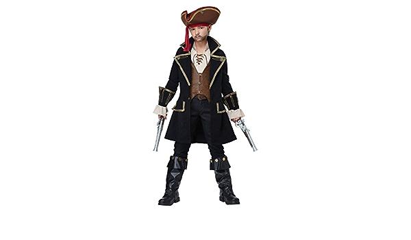 Toys & Games Costumes La Vogue Boys Pirate Captain Halloween ...