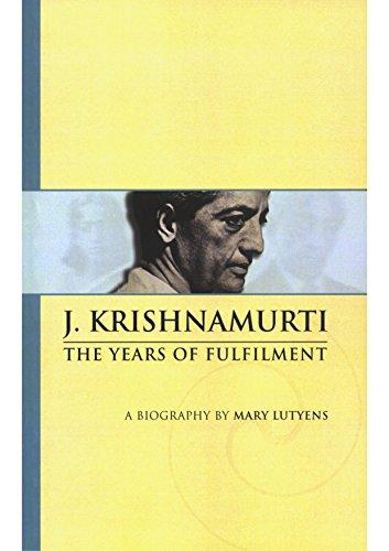 J Krishnamurti Book
