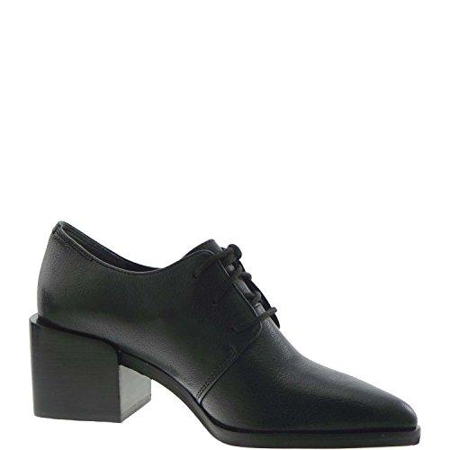 What For - Zapatos de cordones para mujer negro