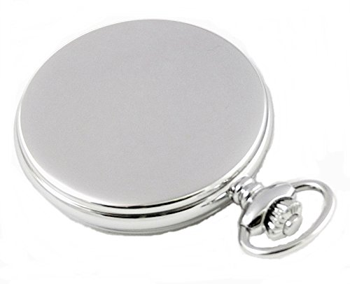 Dueber Moon Phase Pocket Watch with Swiss Movement & Mother of Pearl Dial by Dueber Watch Co (Image #3)