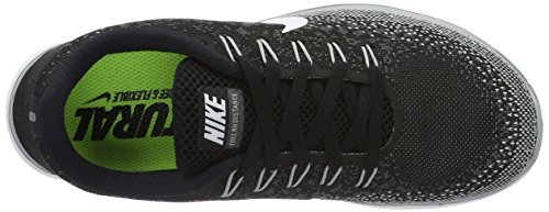 Nike WMNS Free RN Distance, Women's Running Shoes Black (Black / White-dark Grey-wlf Grey)