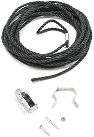 Werner escalera Kit de polea y cuerda: Amazon.es: Bricolaje y herramientas