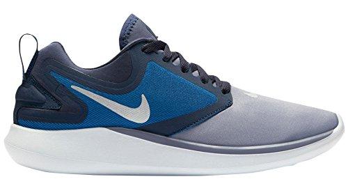 Sleeved Women's Distance Top Miler Nike Blue Running Long Armory Blue Navy Top IxRE4n7