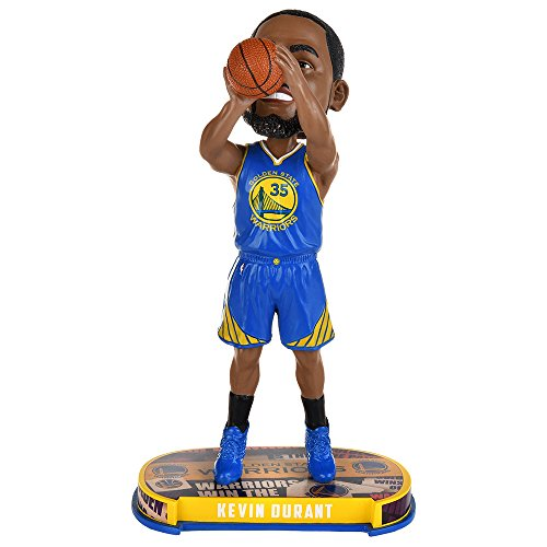 Kevin Durant (Golden State Warriors) 2017 NBA Headline Bobble Head by Forever Collectibles by 2017 NBA Headline Bobbleheads