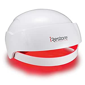iRestore Laser Hair Growth System - FDA Cleared Hair Loss Treatment for Men and Women with Balding and Thinning - Laser Helmet Uses Regrowth Light Therapy Like Laser Cap, Hat, Comb and Brush Products