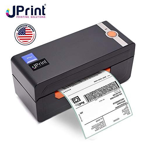 JPrint Label Printer - Commercial Grade Direct Thermal High Speed Printer - Bluetooth - Compatible with Amazon, Ebay, Etsy, Shopify - 4×6 Label Printer